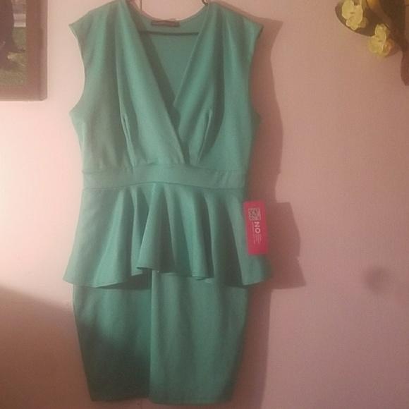 Forever 21 Dresses & Skirts | Symphony Green Cocktail Dress | Poshmark